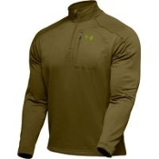 Under Armour Men's Hundo® Grid Fleece Green Pullover