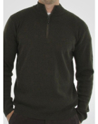 ExOfficio Men's Venture 1/4 Zip Sweater Olive